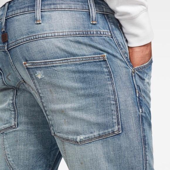 NEW G-Star Raw 5620 3D Straight Elwood Jeans